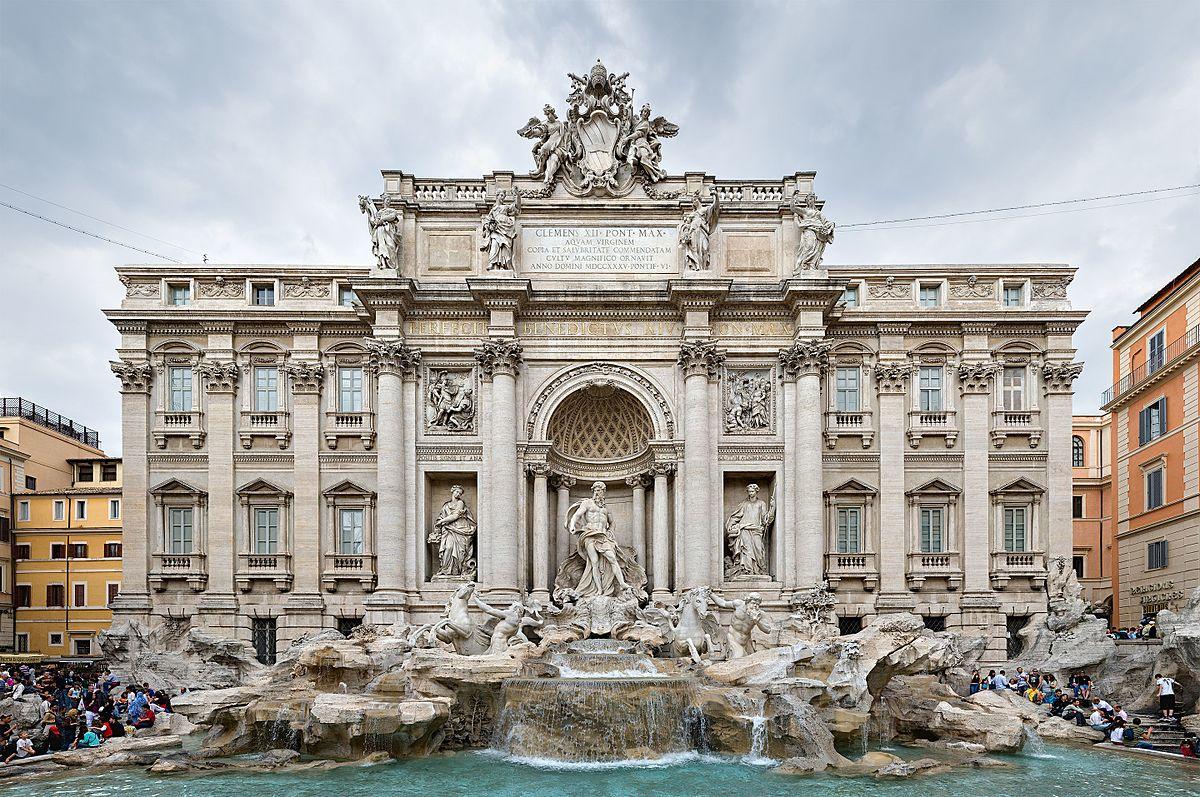 السياحة في روما - نافورة تريفي