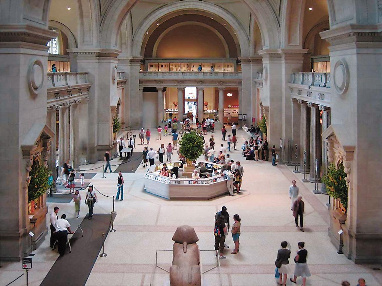 السياحة في نيويورك - متحف المتروبوليتان للفن