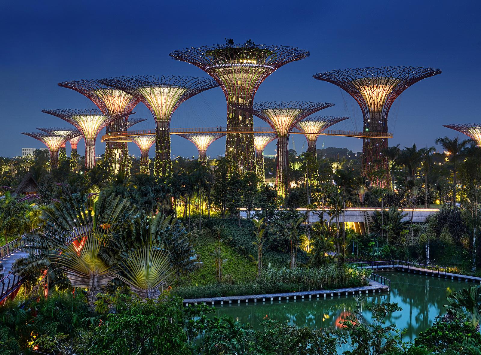 السياحة في سنغافورة - حدائق الخليج