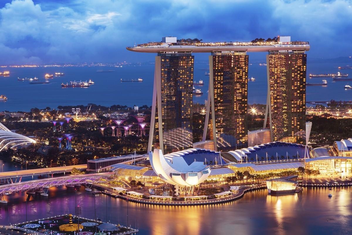 السياحة في سنغافورة - مارينا باي ساندز