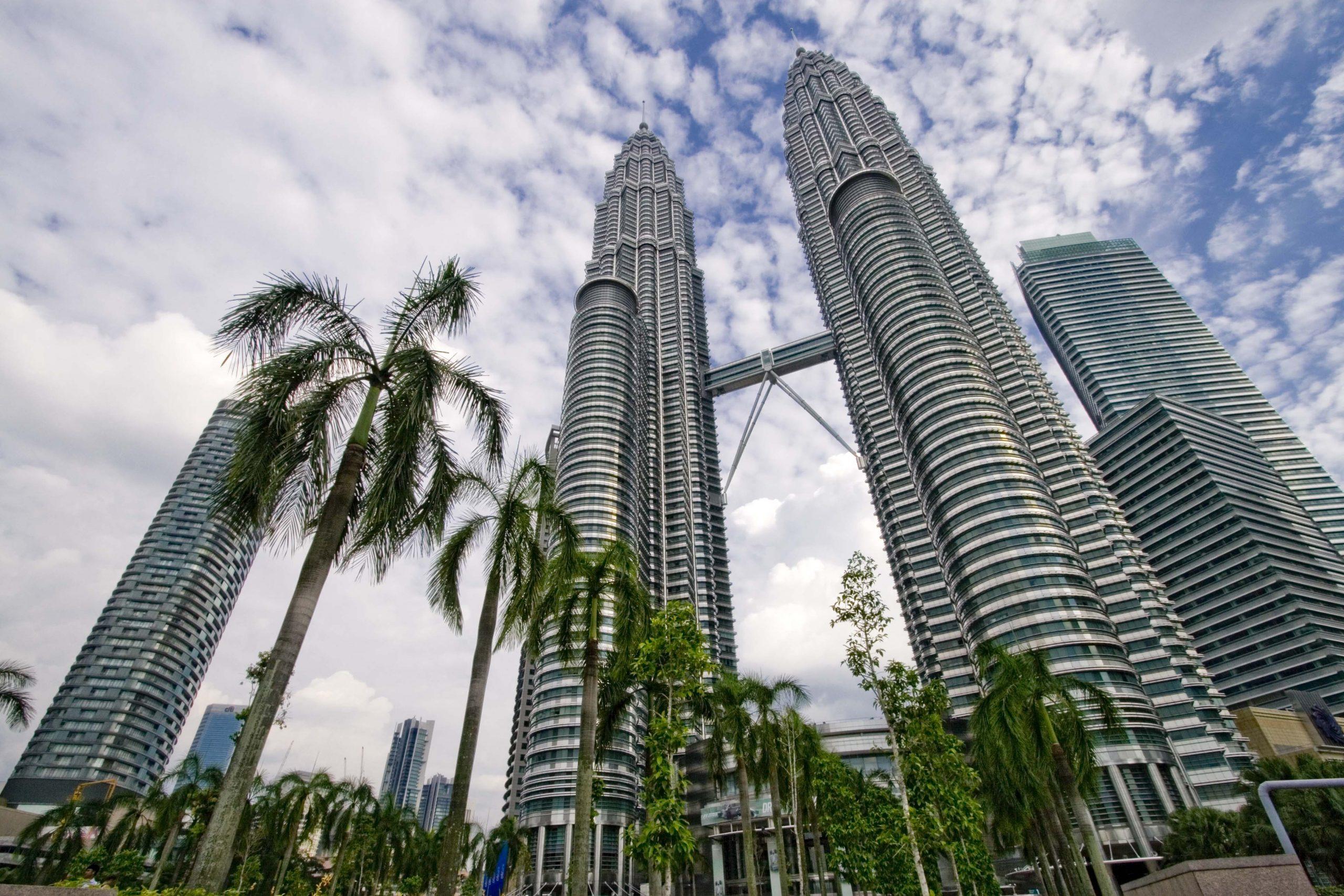 السياحة في ماليزيا - برجا بتروناس التوأم