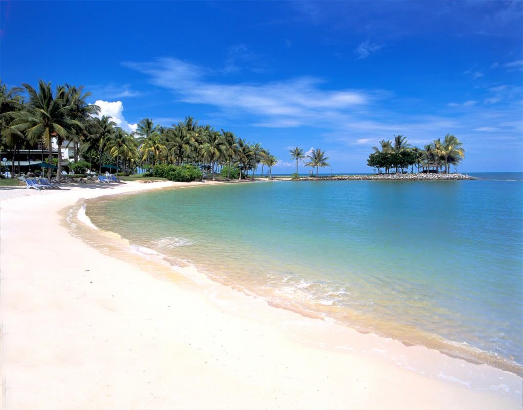 السياحة في ماليزيا - شاطئ تيلوك نيباه