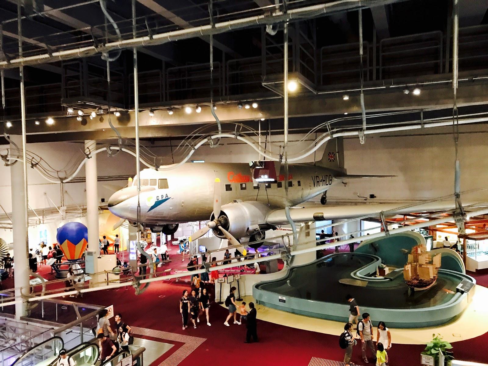 السياحة في هونغ كونغ - متحف العلوم هونغ كونغ