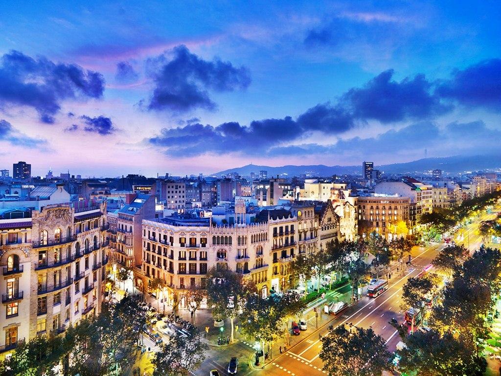 أجمل المدن السياحية - برشلونة في إسبانيا