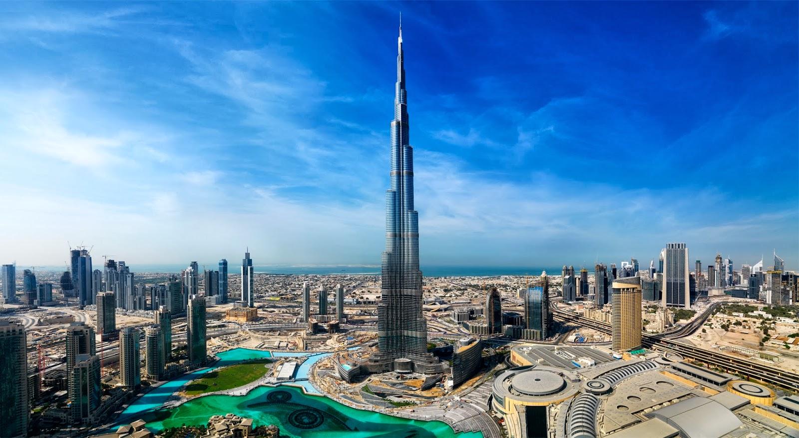 أجمل المدن السياحية - دبي في الإمارات