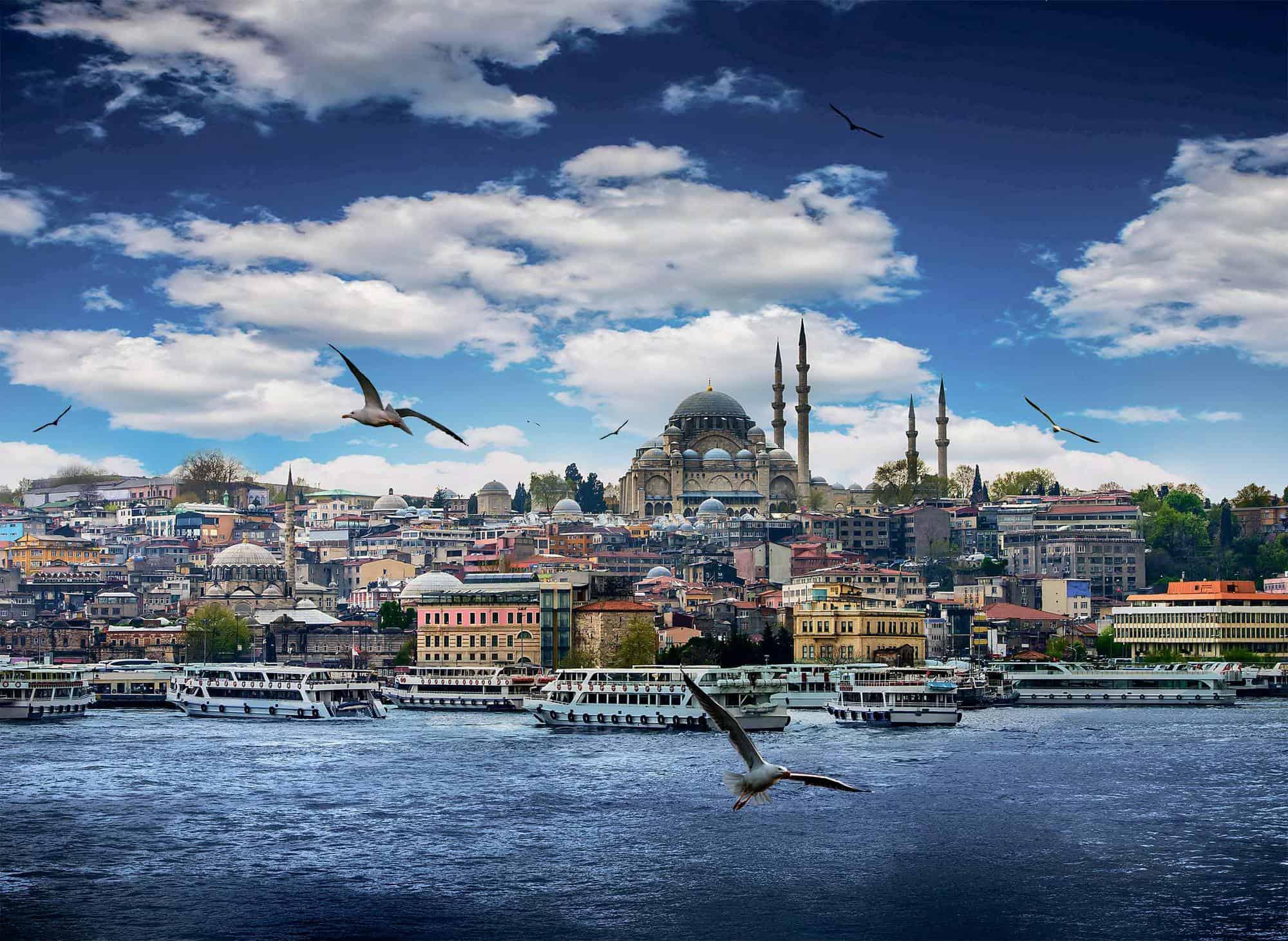 أجمل المدن السياحية - اسطنبول في تركيا