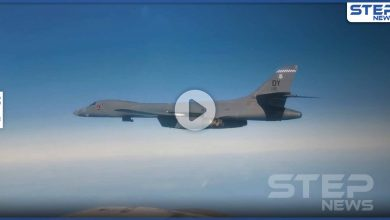 بالفيديو || مقاتلة روسية تعترض هدفين أمريكيين فوق بحر بيرنغ