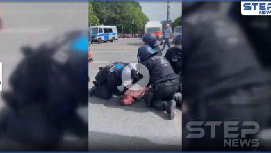 بالفيديو|| الشرطة الألمانية تعنف امرأة حامل وسط شوارع برلين.. وصرخاتها تثير ضجة