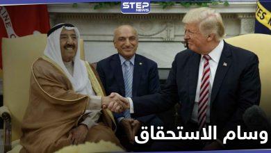 """الرئيس الأمريكي يمنح أمير الكويت """"صباح الأحمد"""" وساماً لم يعطى لأحد منذ 29 عاماً"""