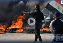 بالفيديو|| الناصرية جنوب العراق تشتعل مجدداً.. والمتظاهرون يمهلون الحكومة لتحقيق مطالبهم