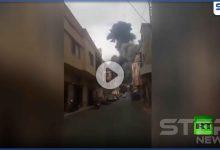 بالفيديو   لقطات جديدة من انفجار عين قانا.. ومعلومات عن وجود معمل تصنيع متفجرات لحزب الله هناك