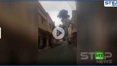 بالفيديو|| لقطات جديدة من انفجار عين قانا.. ومعلومات عن وجود معمل تصنيع متفجرات لحزب الله هناك