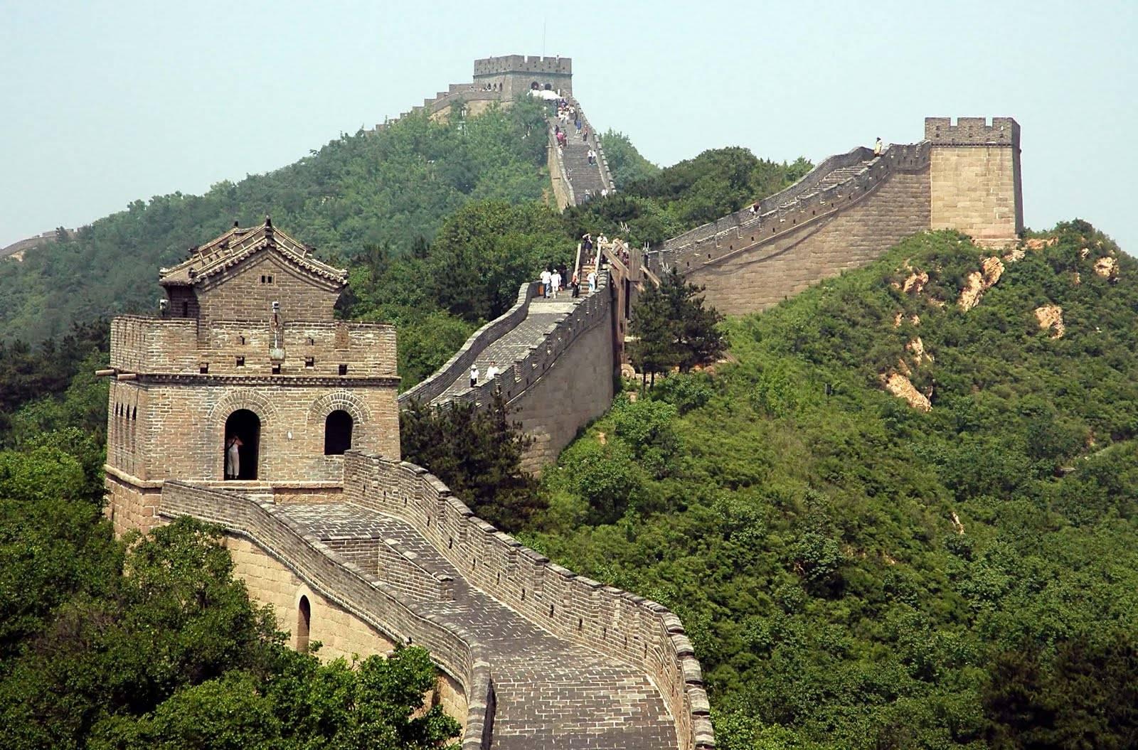 أشهر المعالم السياحية في العالم - سور الصين العظيم