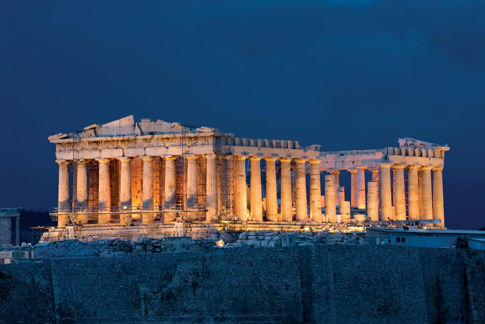 أشهر المعالم السياحية في العالم - البارثينون
