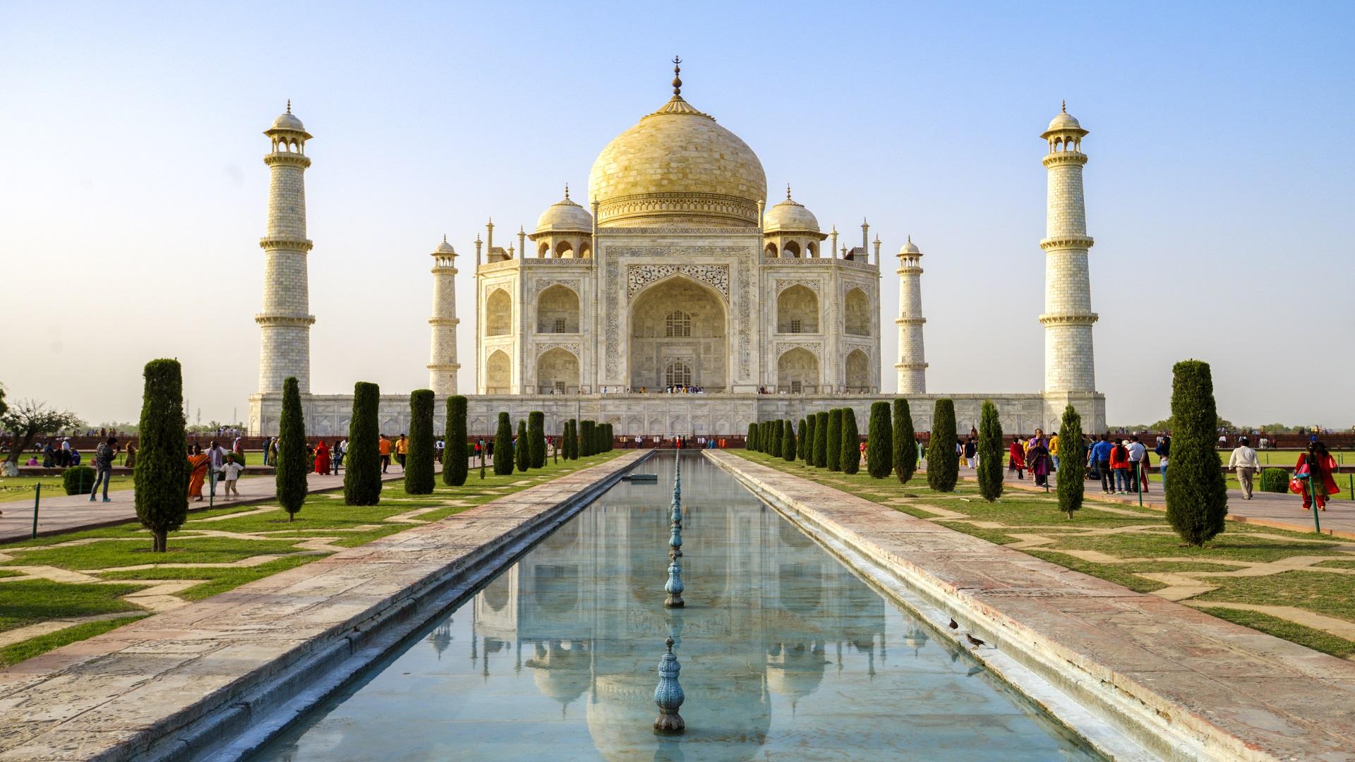 أشهر المعالم السياحية في العالم - تاج محل
