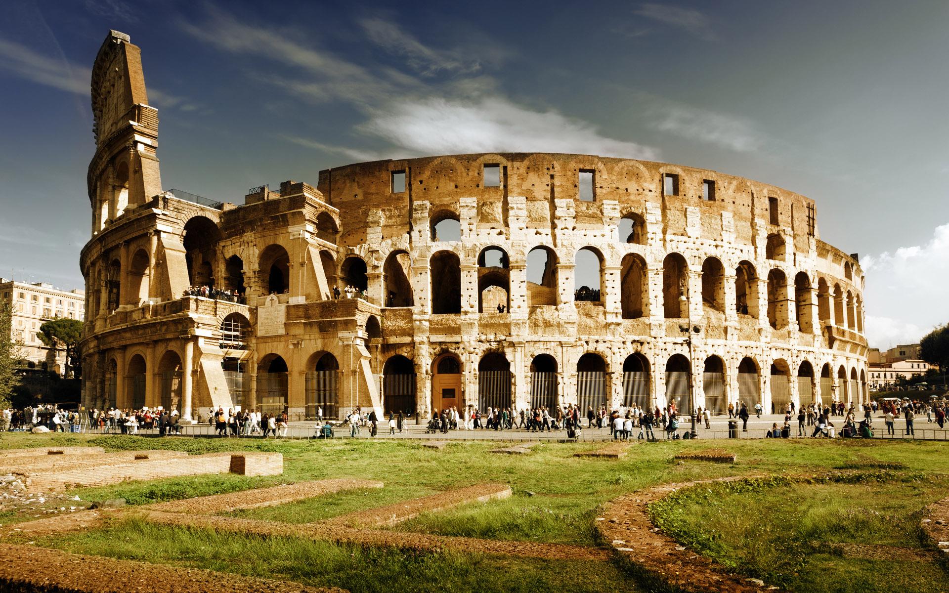 أشهر المعالم السياحية في العالم - الكولوسيوم