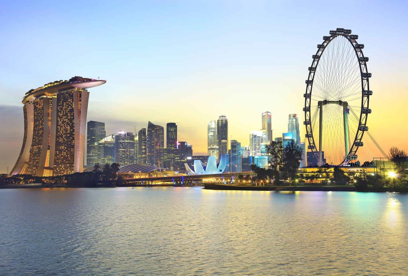 أكثر الدول السياحية في العالم - سنغافورة