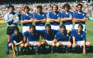 المنتخب الإيطالي الفائز بلقب كأس العالم 1982