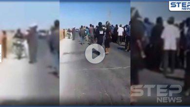 بالفيديو|| احتجاجات ضد فصائل المعارضة الموالية لتركيا في رأس العين..أبو عمشة وفصيله أغضبوا الأهالي