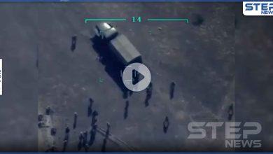 بالفيديو   لحظة استهداف البيرقدار التركية لمقاتلي أرمينيا.. والتعرف على أسماء قتلى جدد من المرتزقة السوريين
