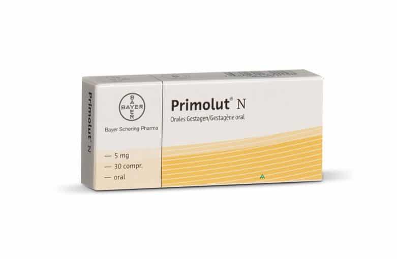 حبوب primolut n لعلاج اضطرابات الدورة الشهرية والحمل