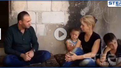 بالفيديو|| هكذا أصبح مصير زوجة عسكري بالنظام السوري بعد مقتل زوجها لأجل الأسد