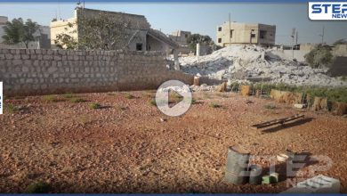 حقيقة استهداف مسيّرة التحالف لمقر أخلته تحرير الشام في الأبزمو غرب حلب (فيديو)