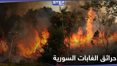 روسيا ترفض مساعدة النظام السوري لإخماد حرائق الغابات السورية والنيران تطال مواقع عسكرية