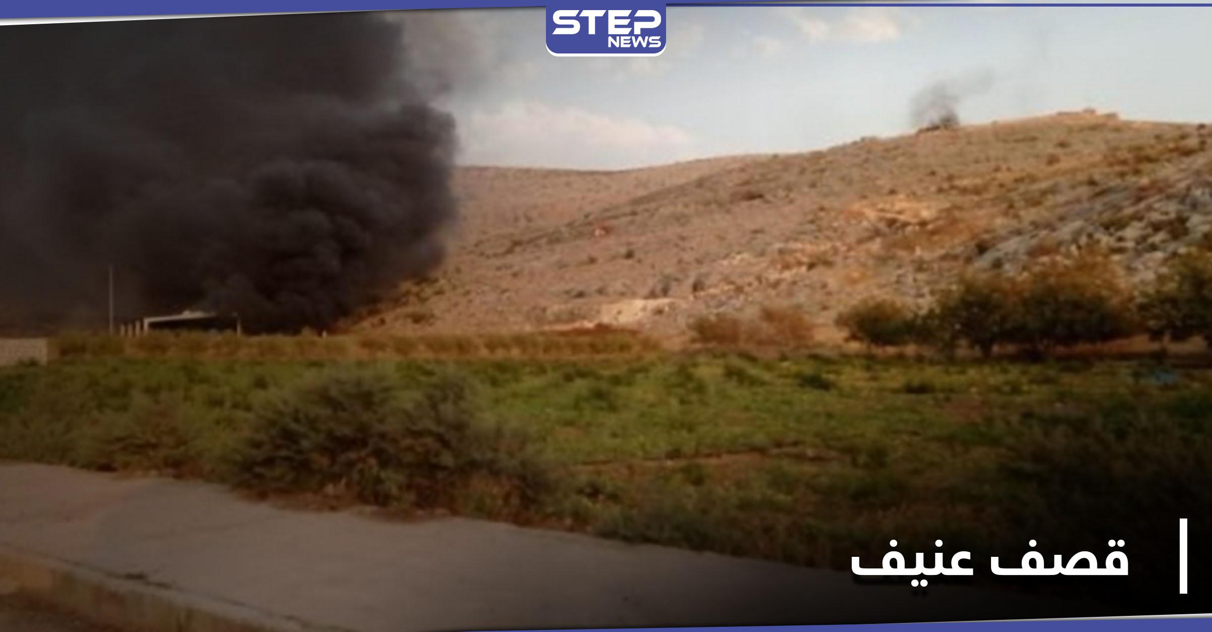 النظام السوري يقصف بصواريخ شديدة الانفجار جبل الزاوية بريف إدلب