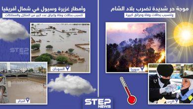 كوارث طبيعية بالمنطقة العربية في مطلع شهر سبتمبر/أيلول 2020.. برأيك ماذا تحمل الأيام القادمة بعد؟