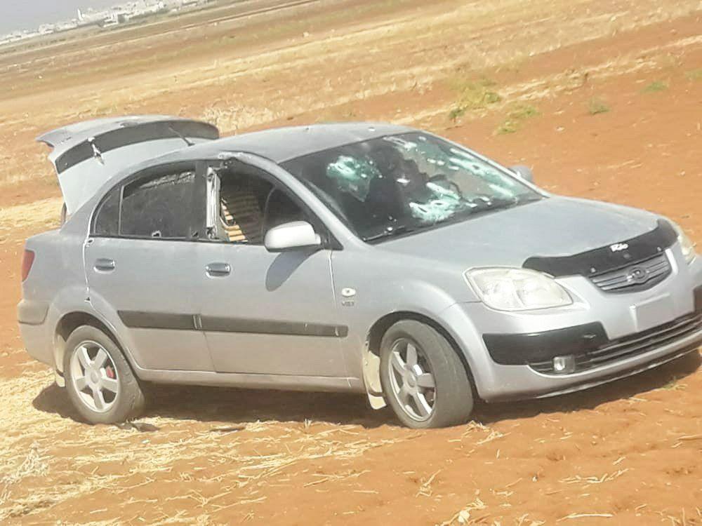 الأتراك يطلقون الرصاص على سيارة في بنش