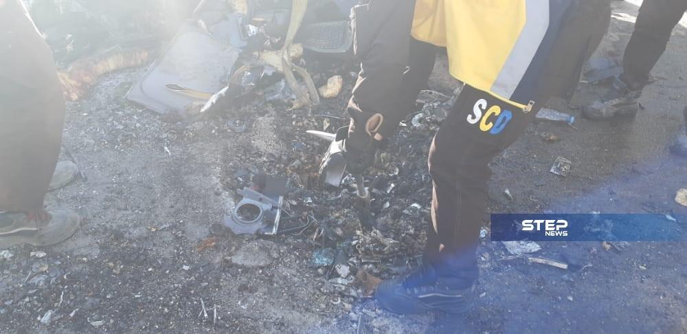 بالفيديو: صواريخ النينجا الأمريكية تستهدف وسط إدلب.. وتقتل قادة من حراس الدين
