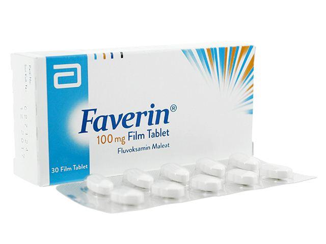 دواء فافرين Faverin لعلاج الاكتئاب