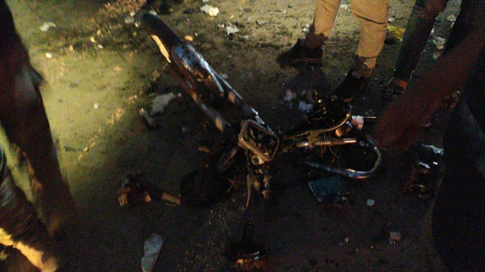 انفجار دراجة نارية مفخخة في عفرين