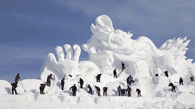 تفسير حلم الثلج في المنام