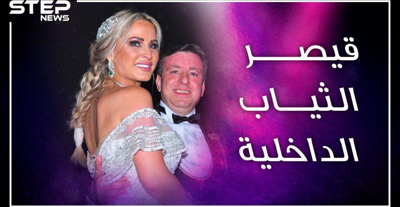 """قيصر """"البوكسر والفانيلا"""" بمصر ينفق الملايين ليتزوج زوجته مرة كل عامين..من هو السوري باسل سماقية!؟"""