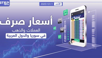أسعار الذهب والعملات للدول العربية وتركيا اليوم الأحد الموافق 11 تشرين الأول 2020