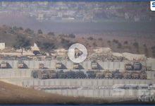 """عدسة """"ستيب"""" ترصد قاعدة عسكرية تركية جديدة قرب معبر باب الهوى.. ومصدر يكشف محتواها"""