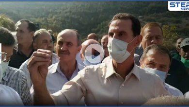 بالفيديو|| بشار الأسد يربط حرائق الساحل برسائل مبطّنة.. فماذا حملت