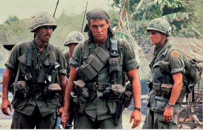 أفلام أكشن الحروب - Platoon