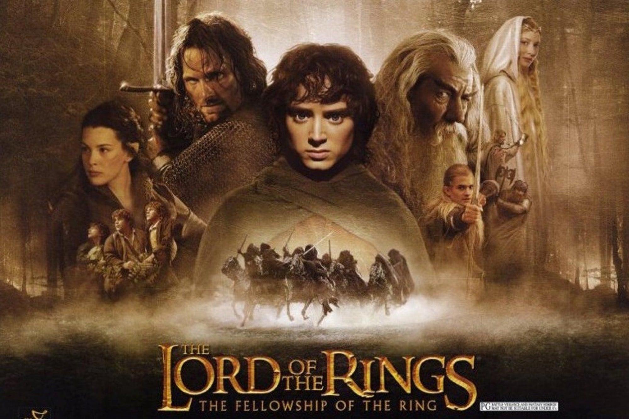 سلاسل أفلام - The Lord of the Rings