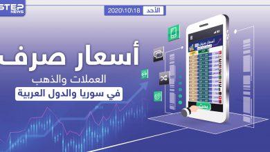 أسعار الذهب والعملات للدول العربية وتركيا اليوم الأحد الموافق 18 تشرين الأول 2020