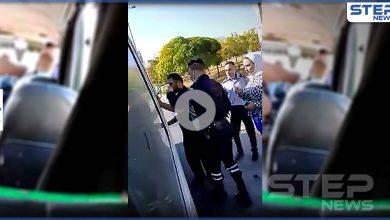 بالفيديو|| متحرش بالباص بمنطقة صويلح بالأردن وقع بشر أعماله بعد ردة فعل الضحية
