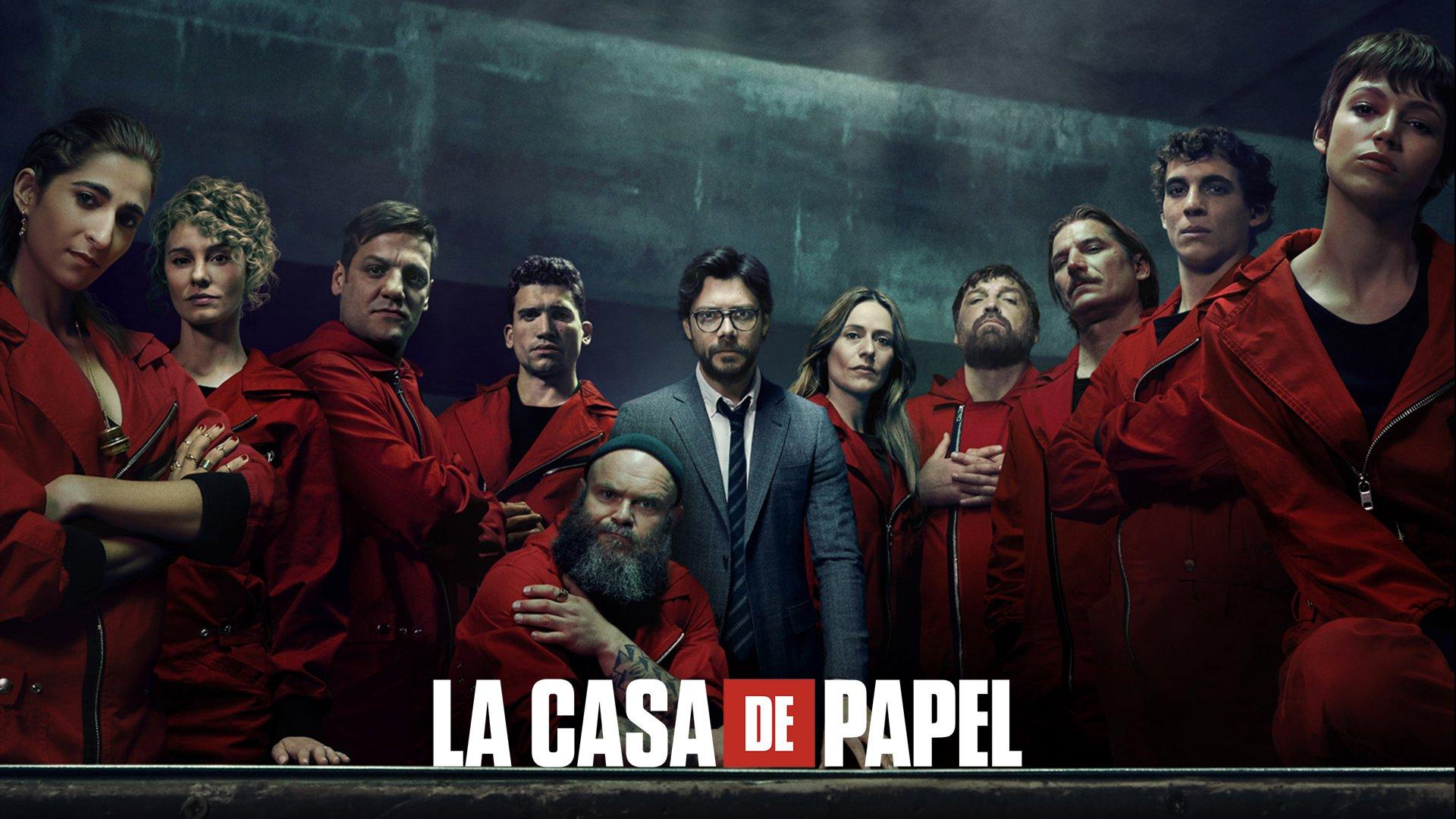 أفضل مسلسلات نتفليكس - مسلسل La Casa De Papel