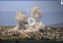 بالفيديو|| قوات النظام السوري ترتكب مجزرة بعد قصف مدفعي على مدينة أريحا بريف إدلب