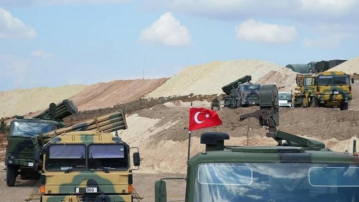 نقطة المراقبة التركية في شيرمغار غربي حماة