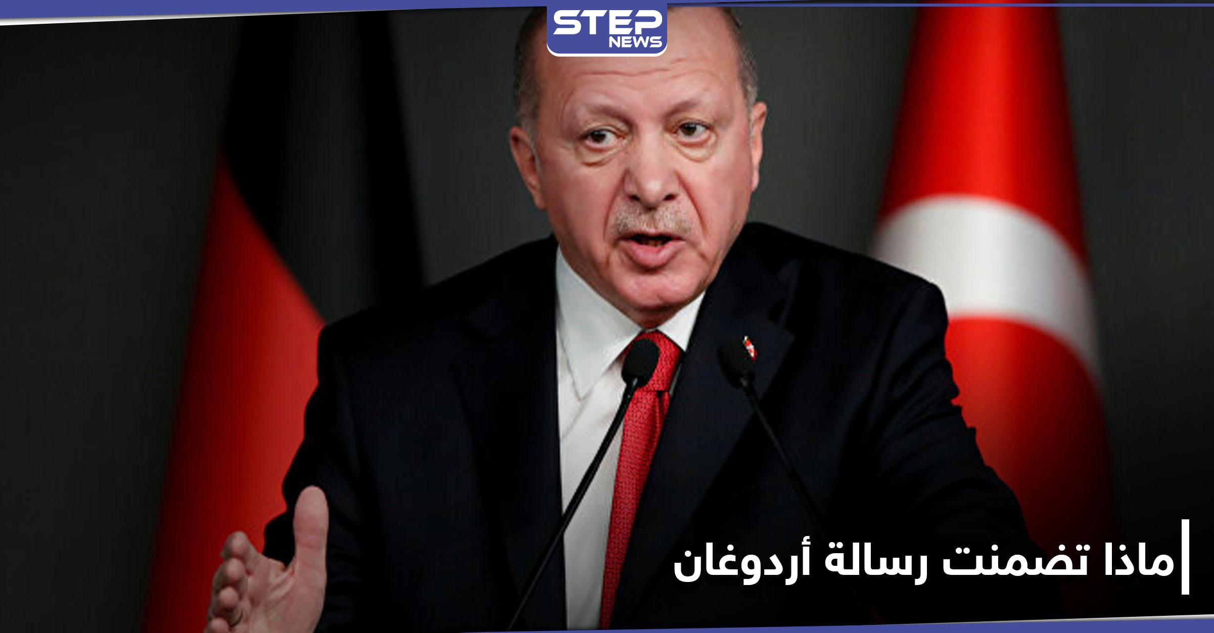 أردوغان يوجه رسالة إلى دول الخليج