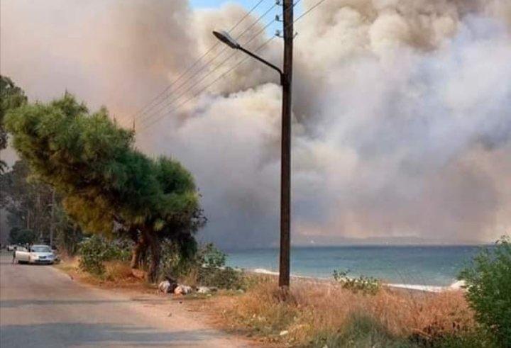 حرائق الساحل السوري