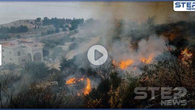 بالفيديو|| حرائق الساحل السوري تحصد أول ضحاياها.. ولبنان يواجه الكارثة ذاتها