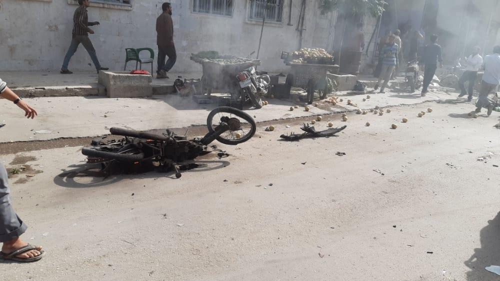 بالفيديو|| سيارة مفخخة تضرب مدينة الباب شمال حلب.. والضحايا بالعشرات